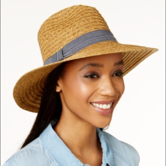 2a931ea44c6589 August Hats Accessories | Denim Delight Large Fedora | Poshmark